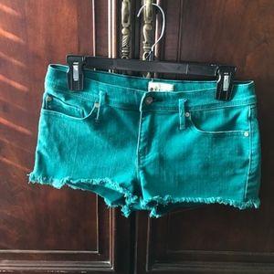 Roxy Denim Shorts Size 7/28